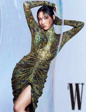 Hwasa for W Korea 2021 March Issue