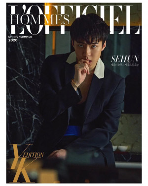 Sehun for L'OFFICIEL YK Edition Korea 2020 April Issue