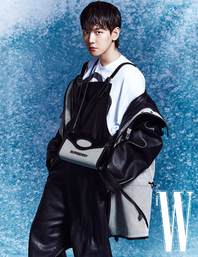 Baekhyun for W Korea March 2021 Issue documents 8