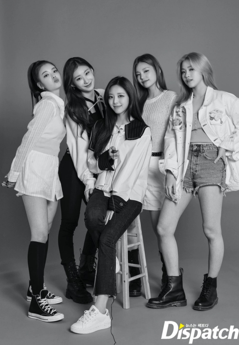 210427 ITZY 'GUESS WHO' Promotion Photoshoot by Dispatch documents 3
