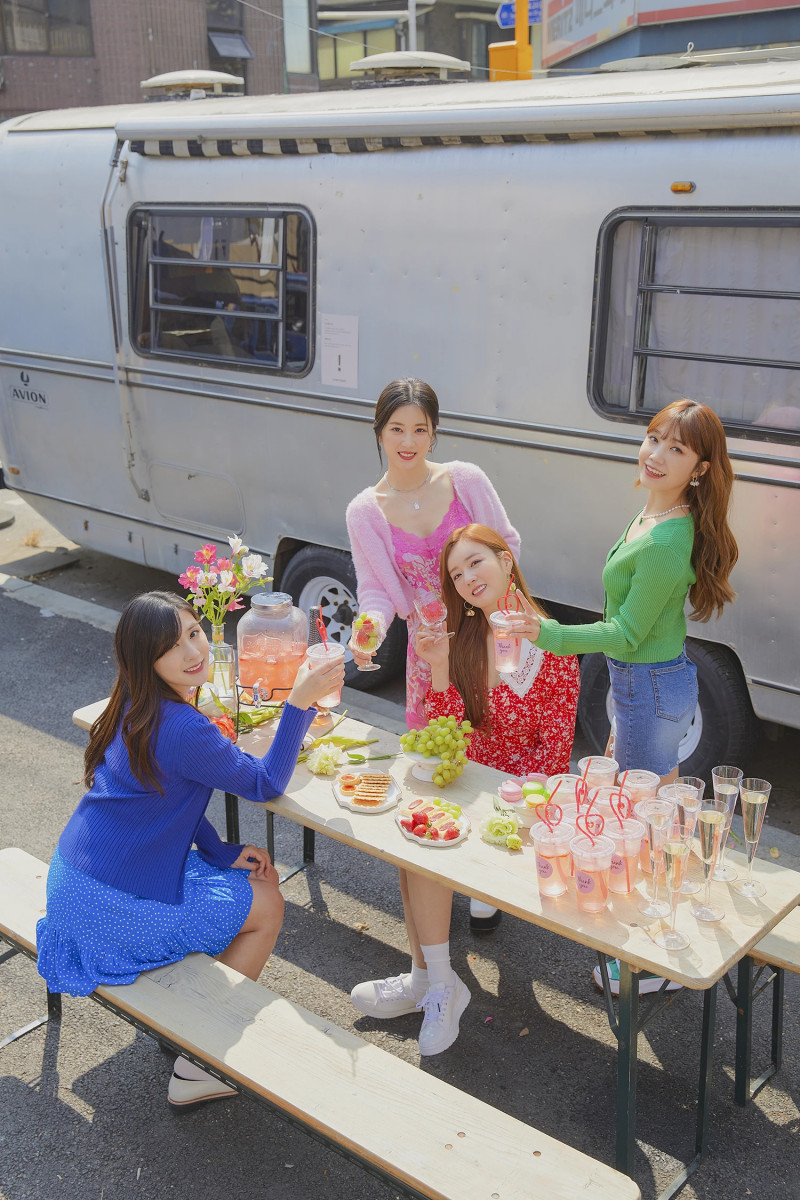 210419 Apink 'Thank you' MV Shoot by Melon documents 3
