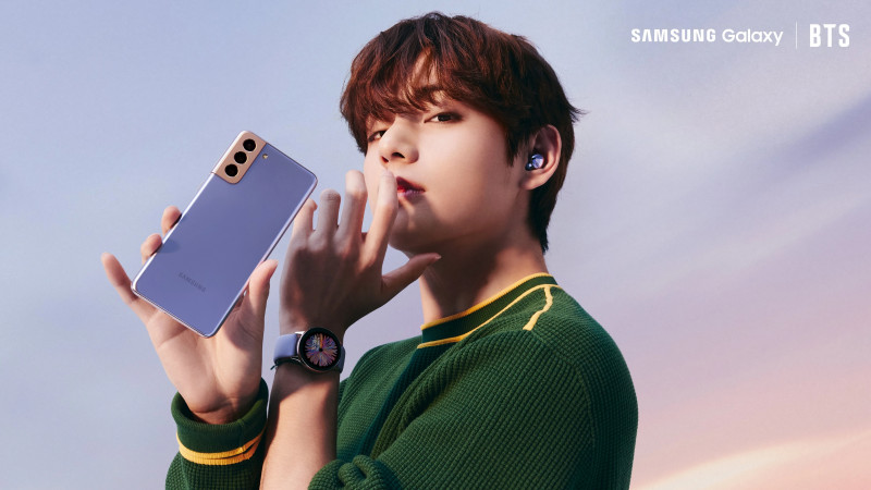 Samsung Latinoamerica Twitter Update - BTS x Samsung Galaxy S21 Ultra documents 5