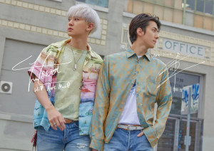 "EXO-SC's ""What A Life"" iTunes Digital booklet"