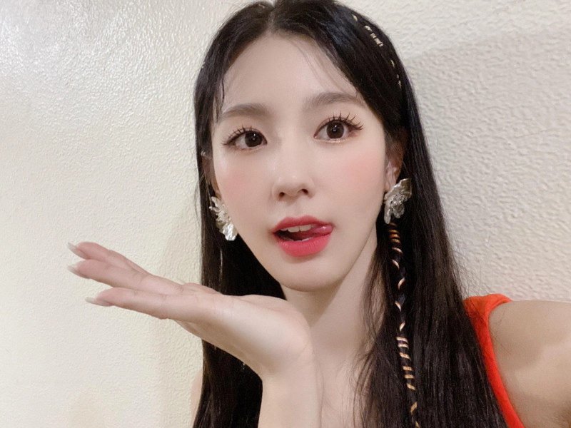 210418 U Cube Update - (G)I-DLE Miyeon documents 5