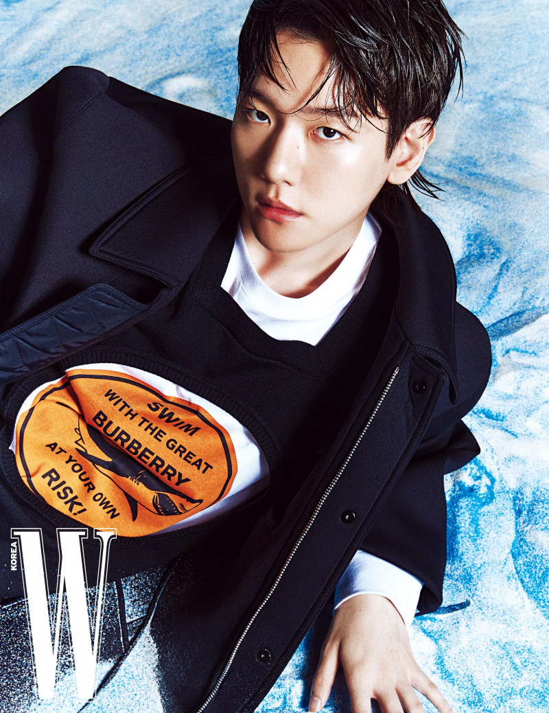 Baekhyun for W Korea March 2021 Issue documents 5