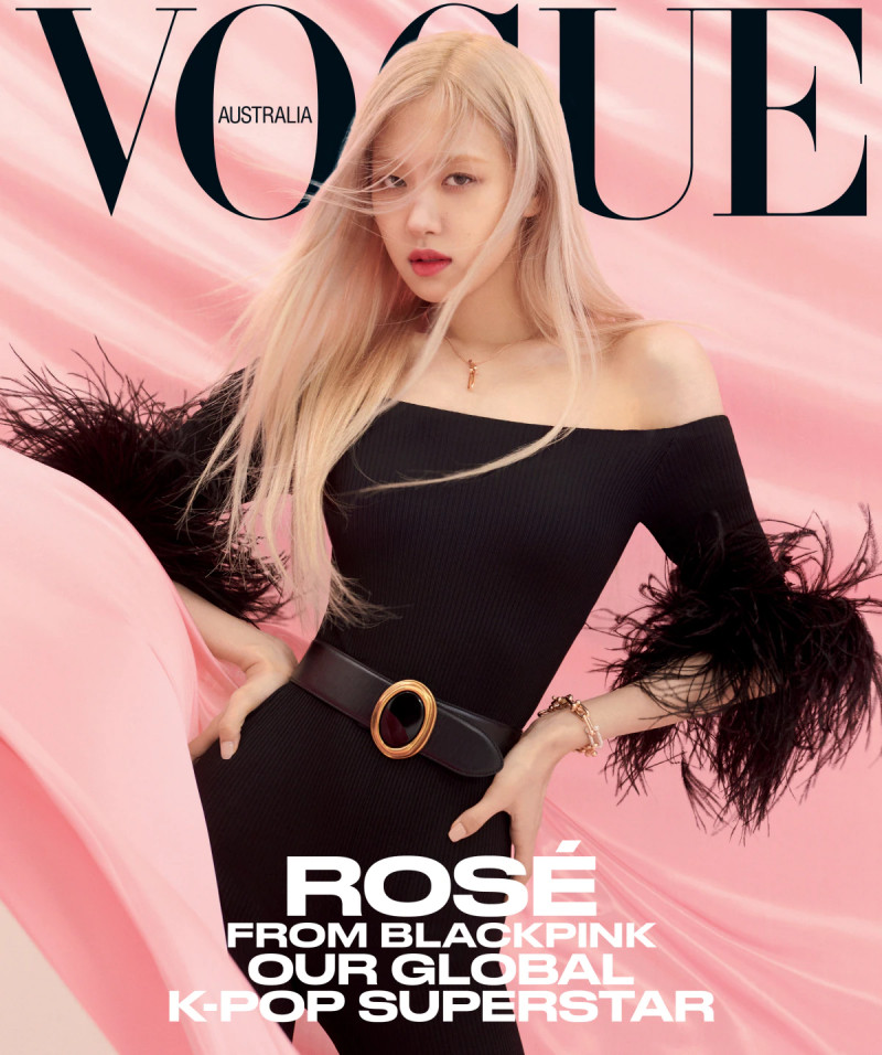 BLACKPINK Rosé for Vogue Australia April 2021 Issue documents 10