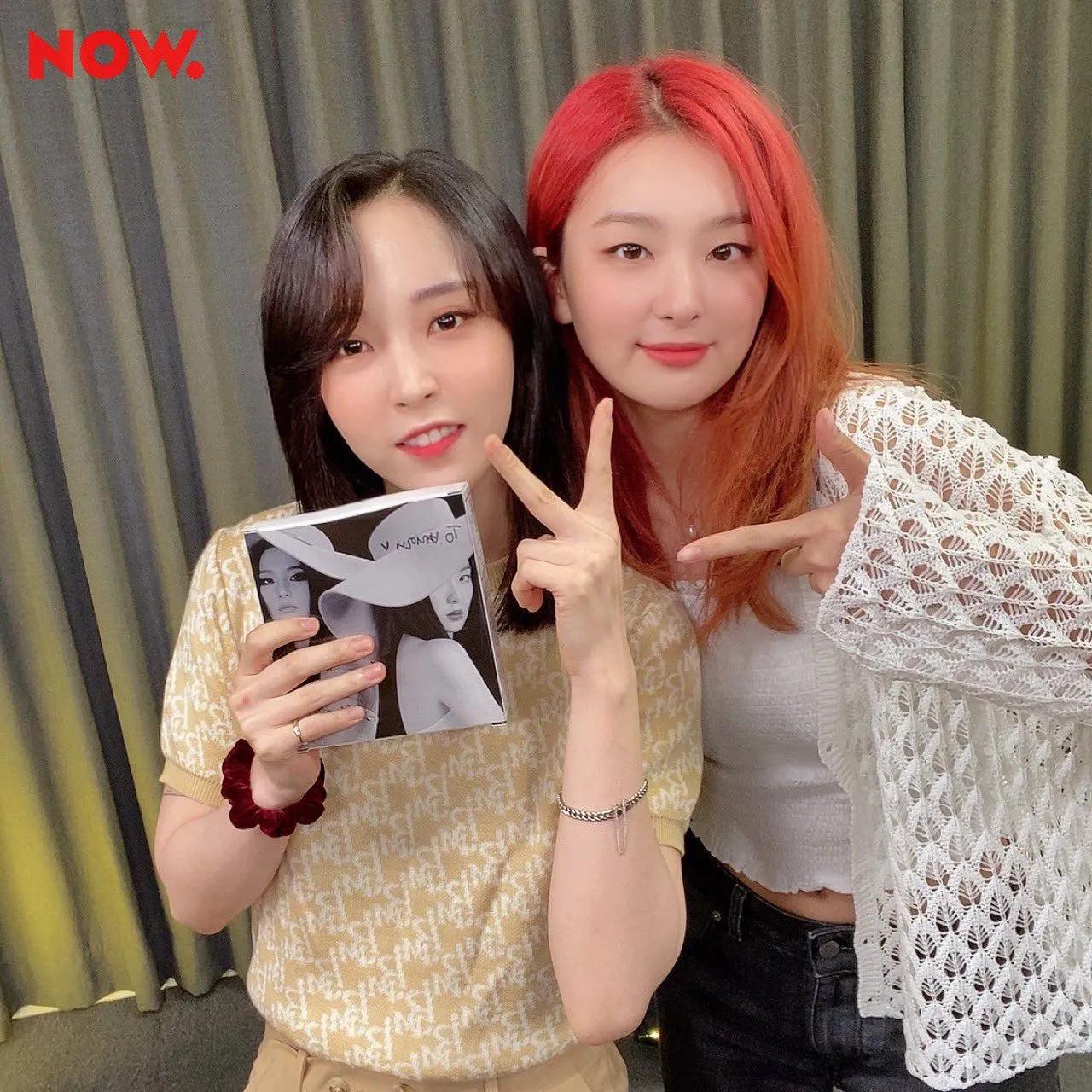 20 Naver Now Twitter Update   Seulgi & Moonbyul   Kpopping