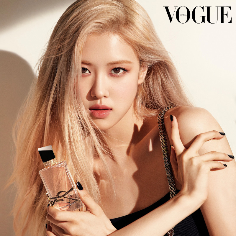 210501 BLACKPINK Rose for Dazed Korea x YSL 'Libre Eau de Toilette' Perfume documents 1