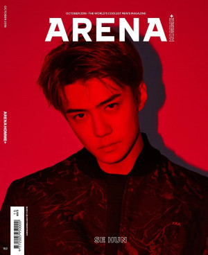 Sehun for Arena Homme+ October 2018 issue