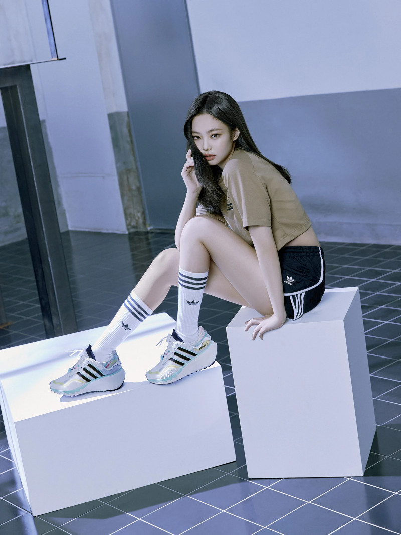 BLACKPINK for Adidas Originals 2021 'Watch Us Move' Collection documents 2