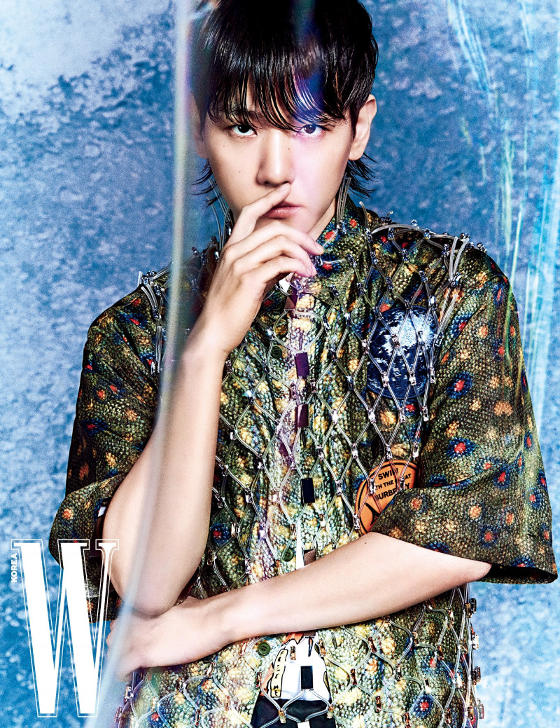 Baekhyun for W Korea March 2021 Issue documents 7