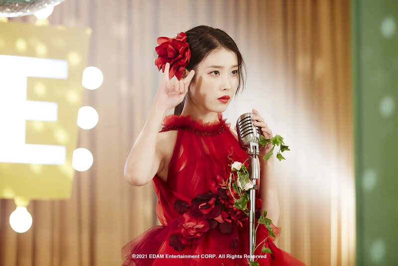 210401 Edam Naver Post - IU 'Coin' MV Behind documents 1