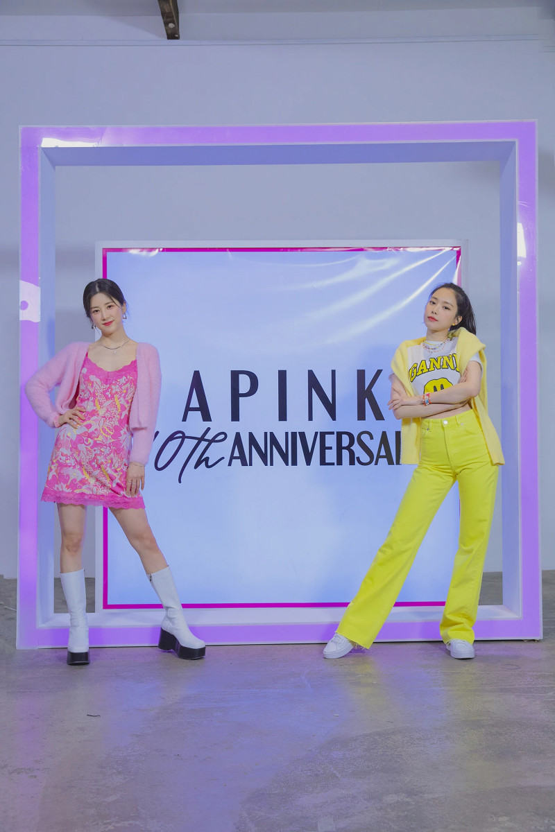 210419 Apink 'Thank you' MV Shoot by Melon documents 2
