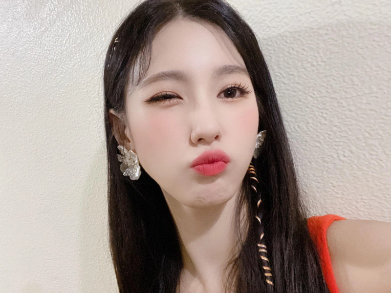 210418 U Cube Update - (G)I-DLE Miyeon documents 4