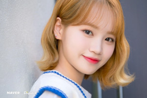IZ*ONE Chaewon - Dicon Unboxing Photoshoot by Naver x Dispatch