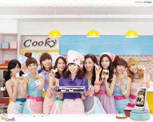 [THROWBACK] SNSD x LG Cooky