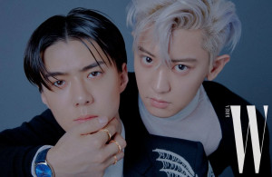 EXO's Chanyeol & Sehun for W KOREA | 2019 Issues | Just The Two of Us
