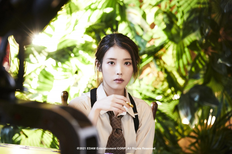 210401 Edam Naver Post - IU 'Coin' MV Behind documents 15