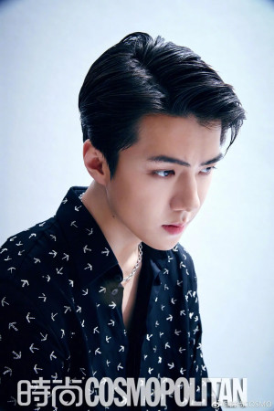 EXO's Sehun for COSMOPOLITAN China April 2019 issues