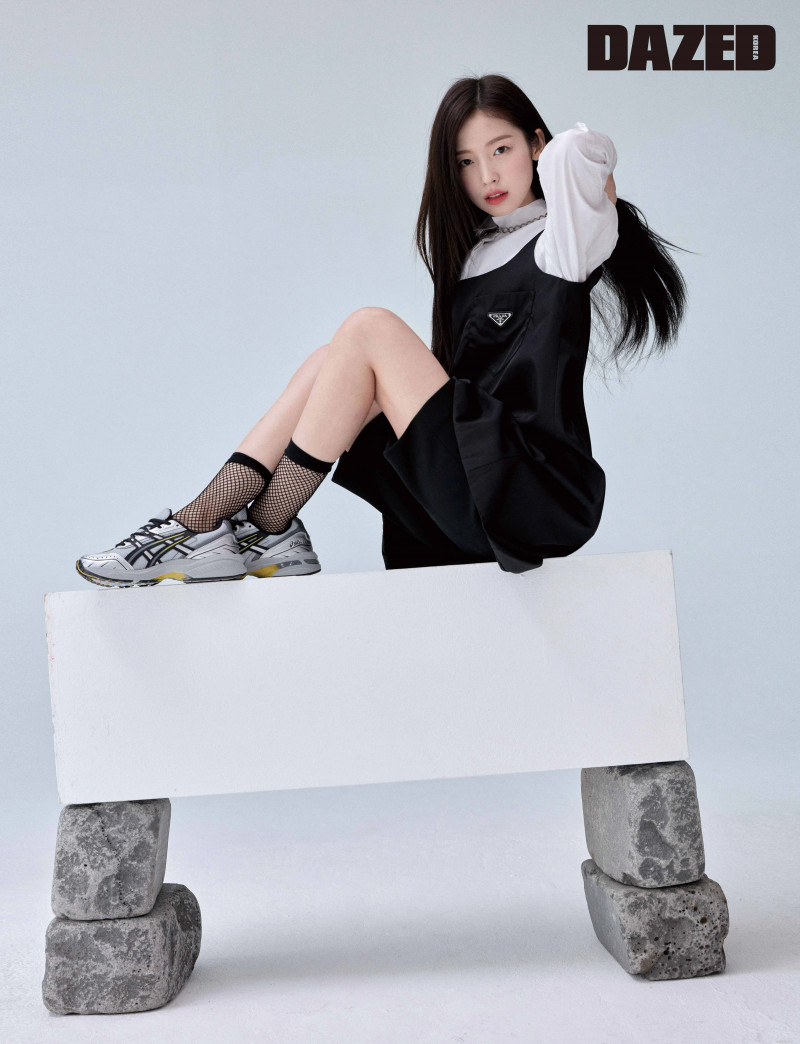 OH MY GIRL Arin for Dazed Korea Magazine March 2021 documents 7
