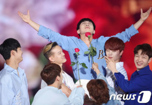 ‪BTOB at the 2018 Korea Music Festival‬