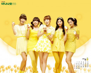 SNSD x Banana Milk