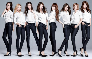 [THROWBACK] SNSD x G-Star Promotional Pictures