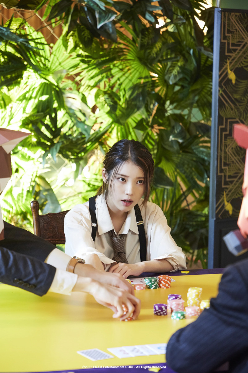 210401 Edam Naver Post - IU 'Coin' MV Behind documents 13