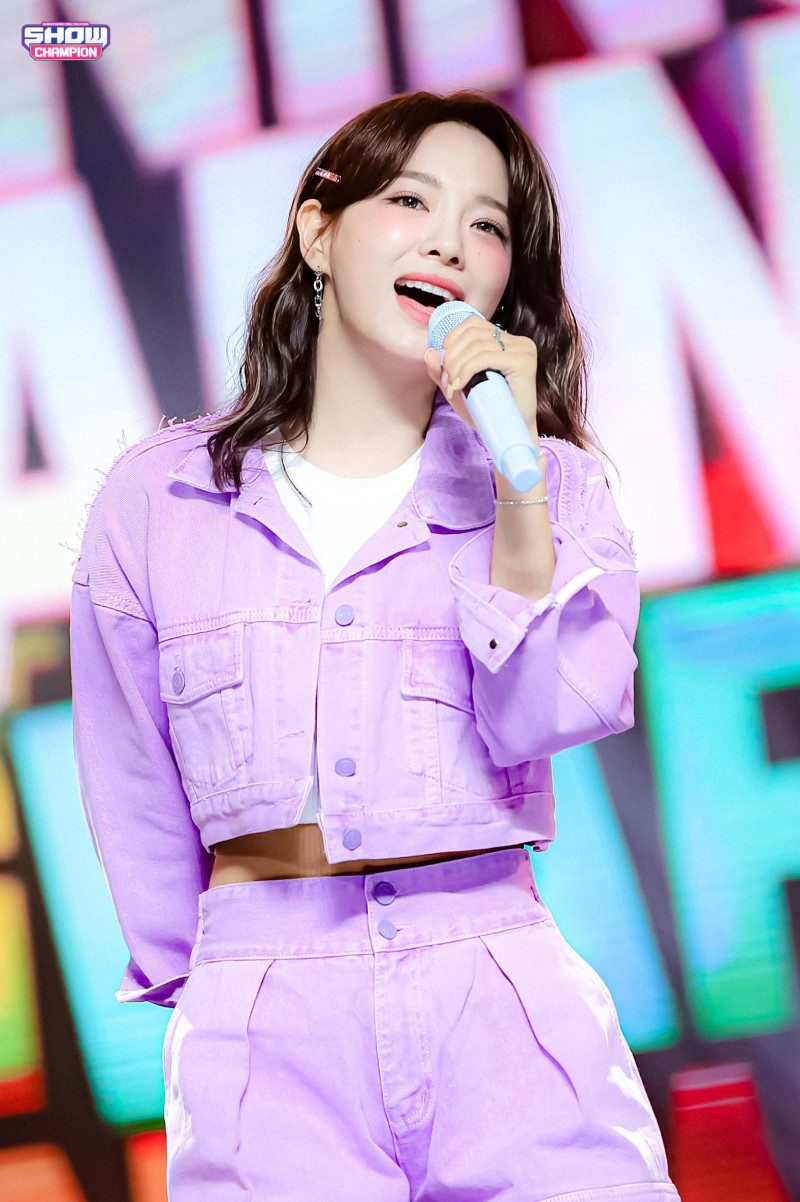 210407 Kim Sejeong 'Warning' at Show Champion documents 18