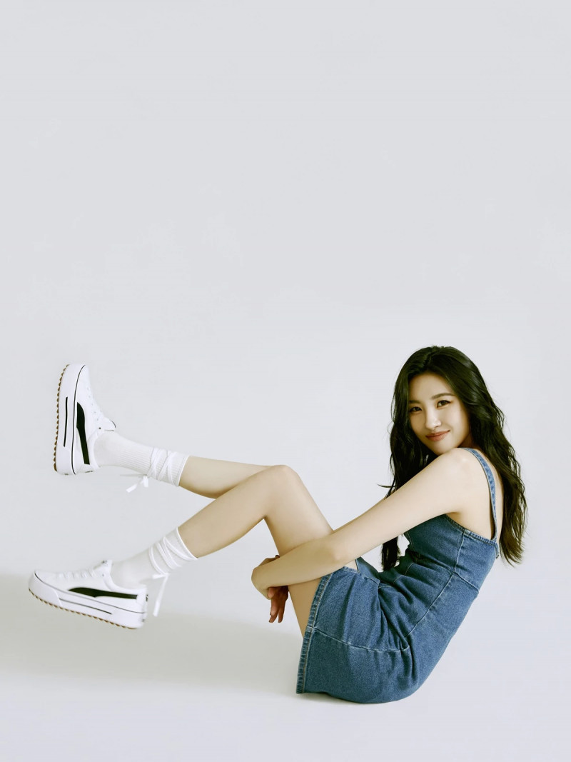Sunmi for Puma 'She Moves Us' Campaign documents 2