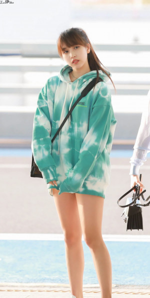 190405 Incheon International Airport Departure Mina