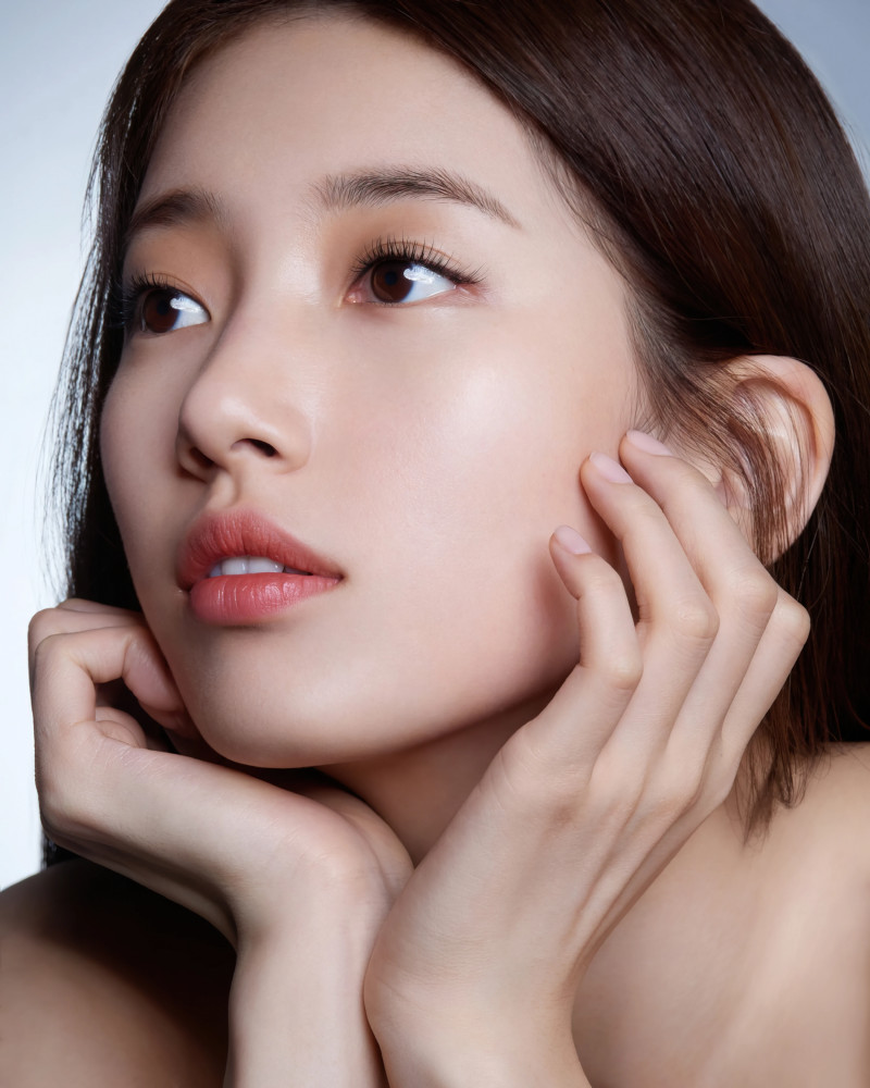 Bae Suzy for Marie Claire Korea Magazine March 2021 x Lancome documents 7