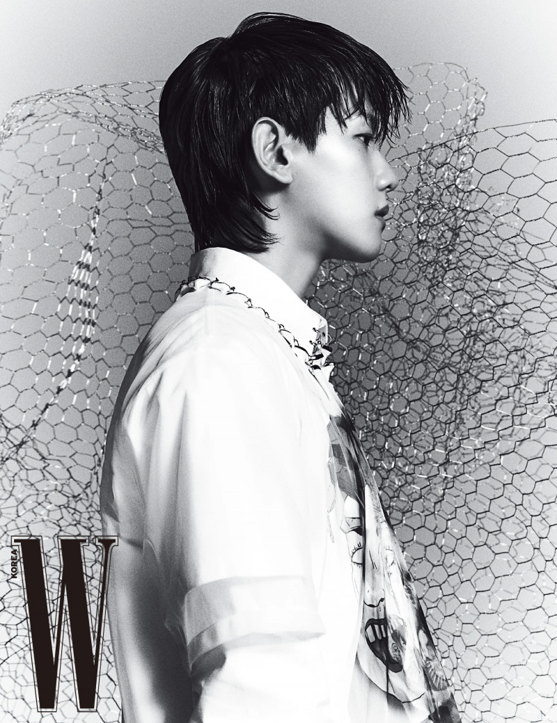 Baekhyun for W Korea March 2021 Issue documents 9