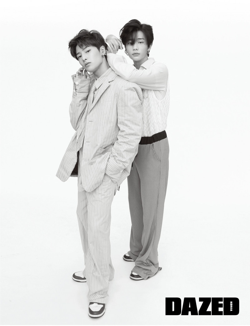 I.N & Hyunjin for Dazed Korea 2018 August Issue documents 7