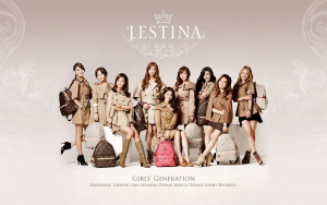 SNSD for Jestina Promotional Photos