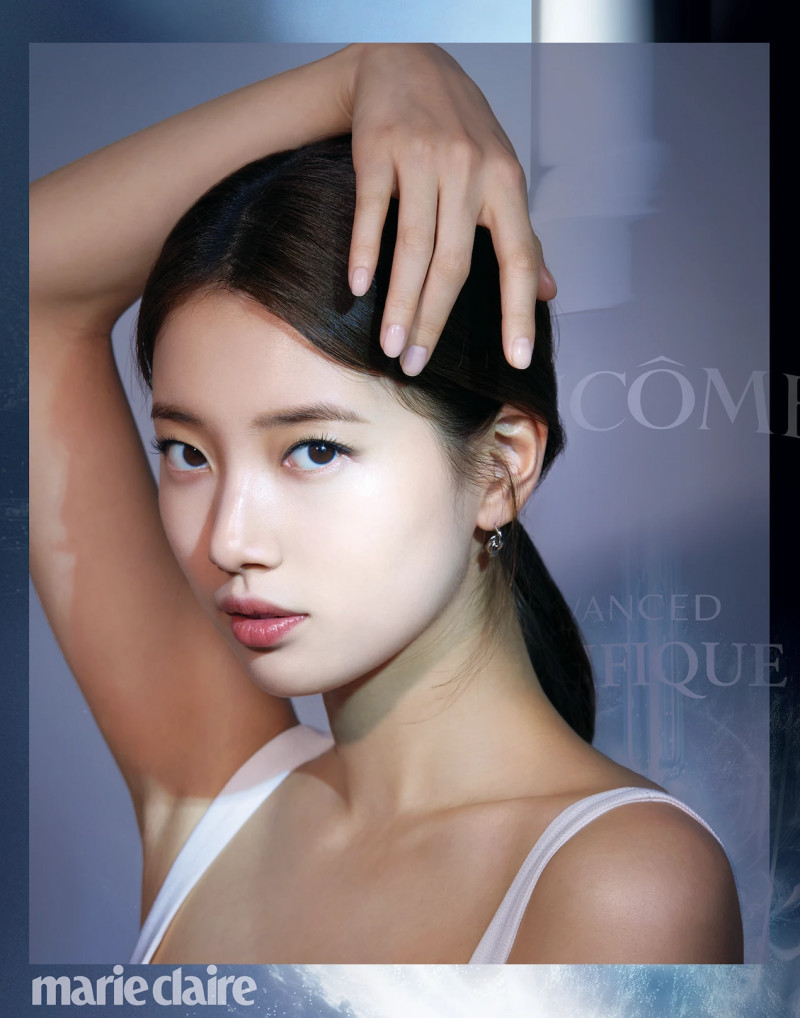 Bae Suzy for Marie Claire Korea Magazine March 2021 x Lancome documents 5