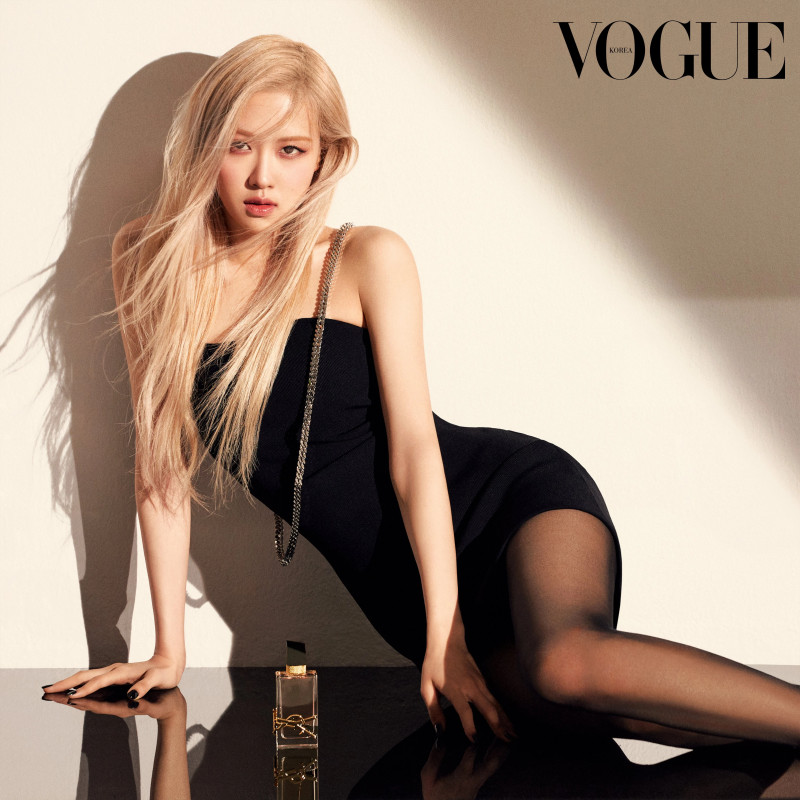 210501 BLACKPINK Rose for Dazed Korea x YSL 'Libre Eau de Toilette' Perfume documents 2