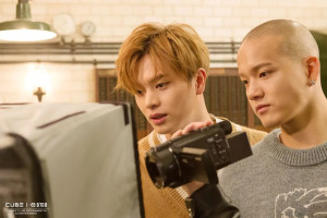 "BTOB's 2nd album ""Brother Act"" Jacket Shoot Behind"